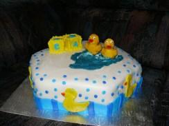 Ducky shower cake1