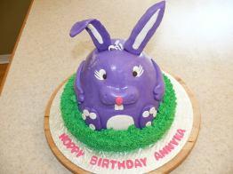 Purple Bunny Cake