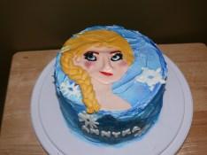 Frozen Themed Cake