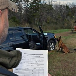 CCU National K9 Certification