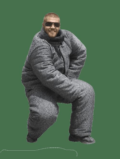 Police Bite Suit