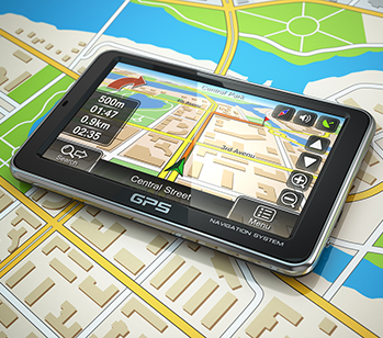GPS used for visiting colleges on tour Custom College Visits