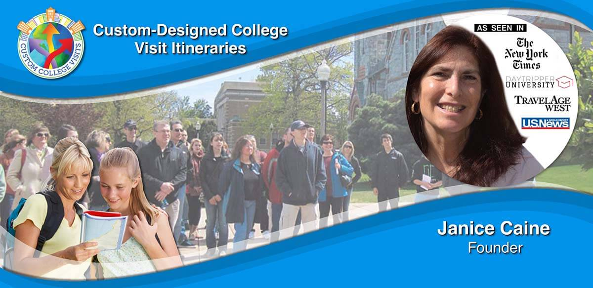 Custom College Visits - Personalized College Visits and Tours for Families