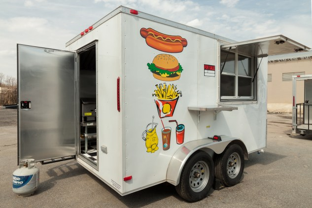 Burger Food Trailer For Sale