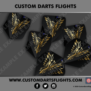 Custom Darts Flights - Rise of the phoenix