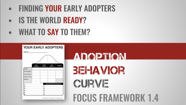 focus framework adoption behavior curve