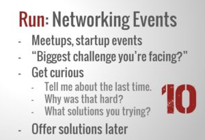 Run - Networking Events