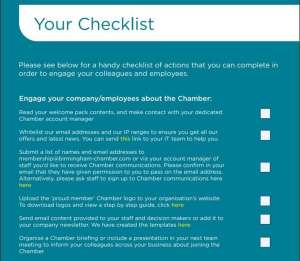 GBCC members onboarding checklist
