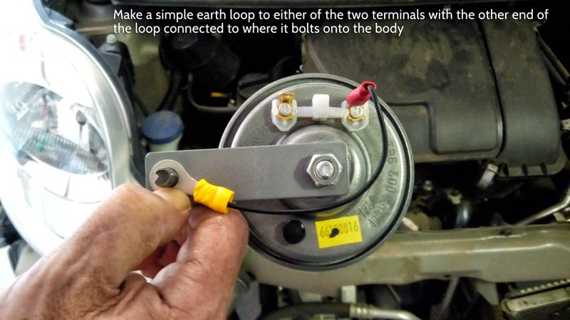 Easy  Replace The Stock Horn In Peugeot 107
