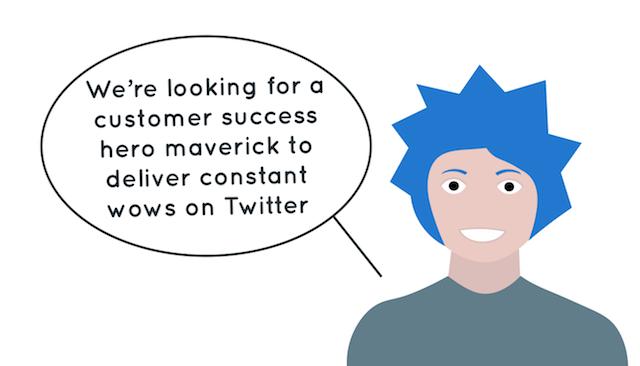 customer service team buzzword job title