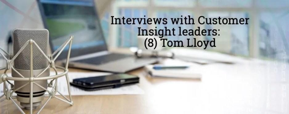 Tom Lloyd interview