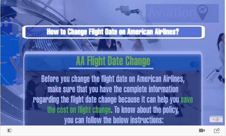 AA date Change
