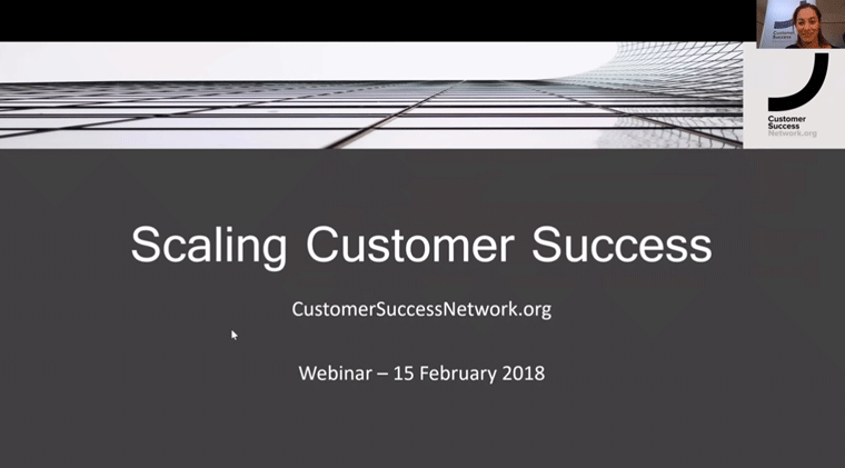 Scaling Customer Success