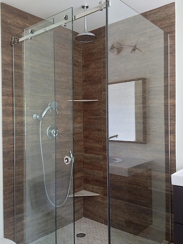 Custom Euro Glass Frameless Shower Glass Doors Bethesda MD
