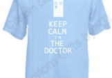 Dr Who Keep Calm T Shirt