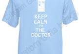 Dr Who Keep Calm T Shirt