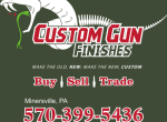 Custom Gun Finishes – Black Friday Sales Start Tonight