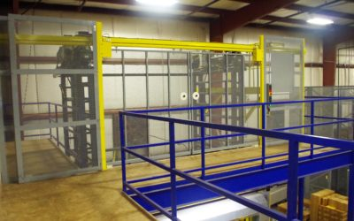 Combining a VRC and Mezzanine for Space Utilization