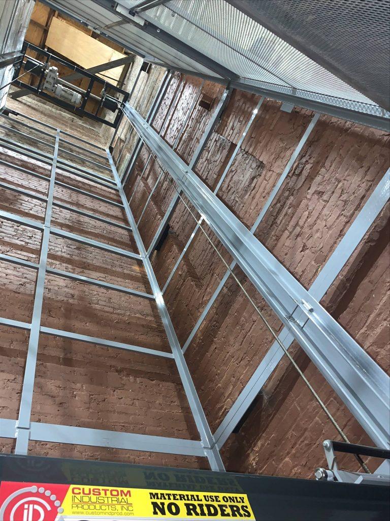 Custom CIP Lift installation