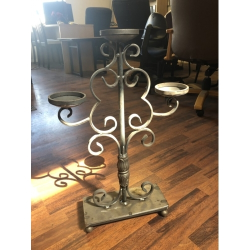 Scroll Candle Scroll Candle Custom Iron Works Best Stair | Custom Iron Stair Railing | Indoor | Steel | Metal | Curved | Ornamental