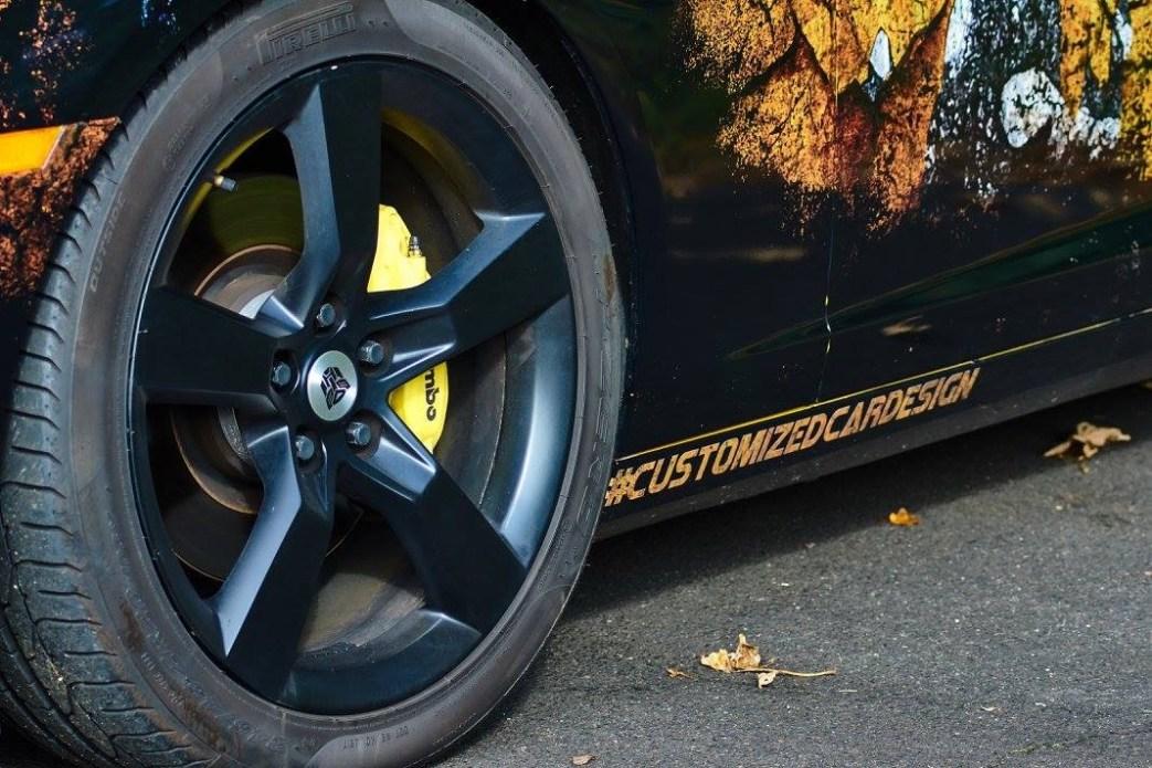 Customized Cardesign Camaro Vollfolierung