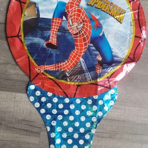 spiderman superhero handheld foil balloon
