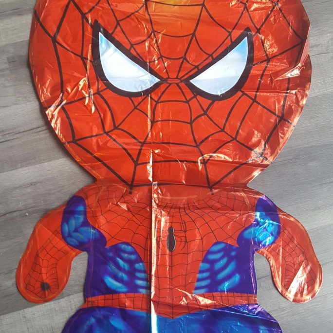 spiderman superhero foil balloon