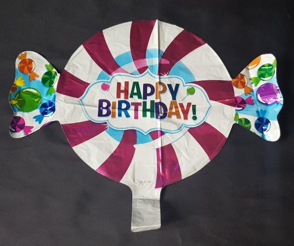 small sweet happy birthday balloon