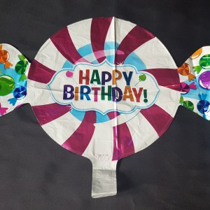 small sweet happy birthday balloon