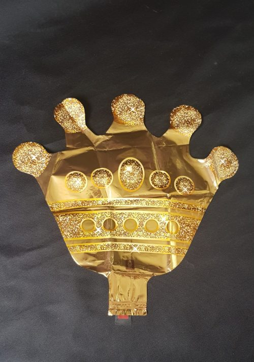 crown small foil balloon
