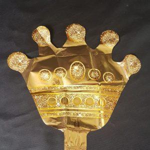 crown small foil balloon