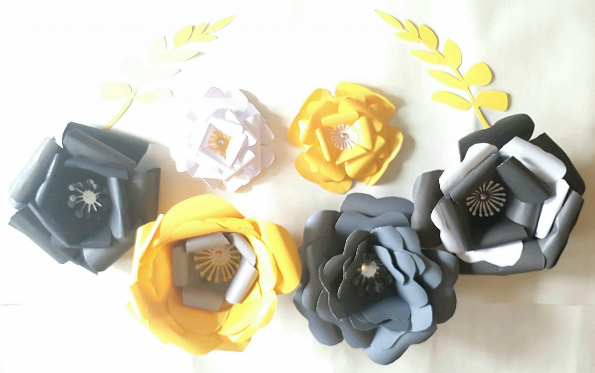 giant 3d paper flower ready made