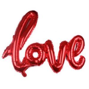 3D love foil balloon