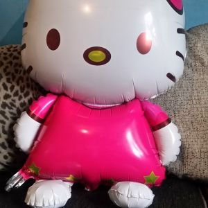 Giant hello kitty balloon