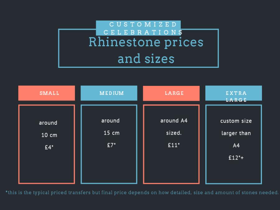 rhinestone prices
