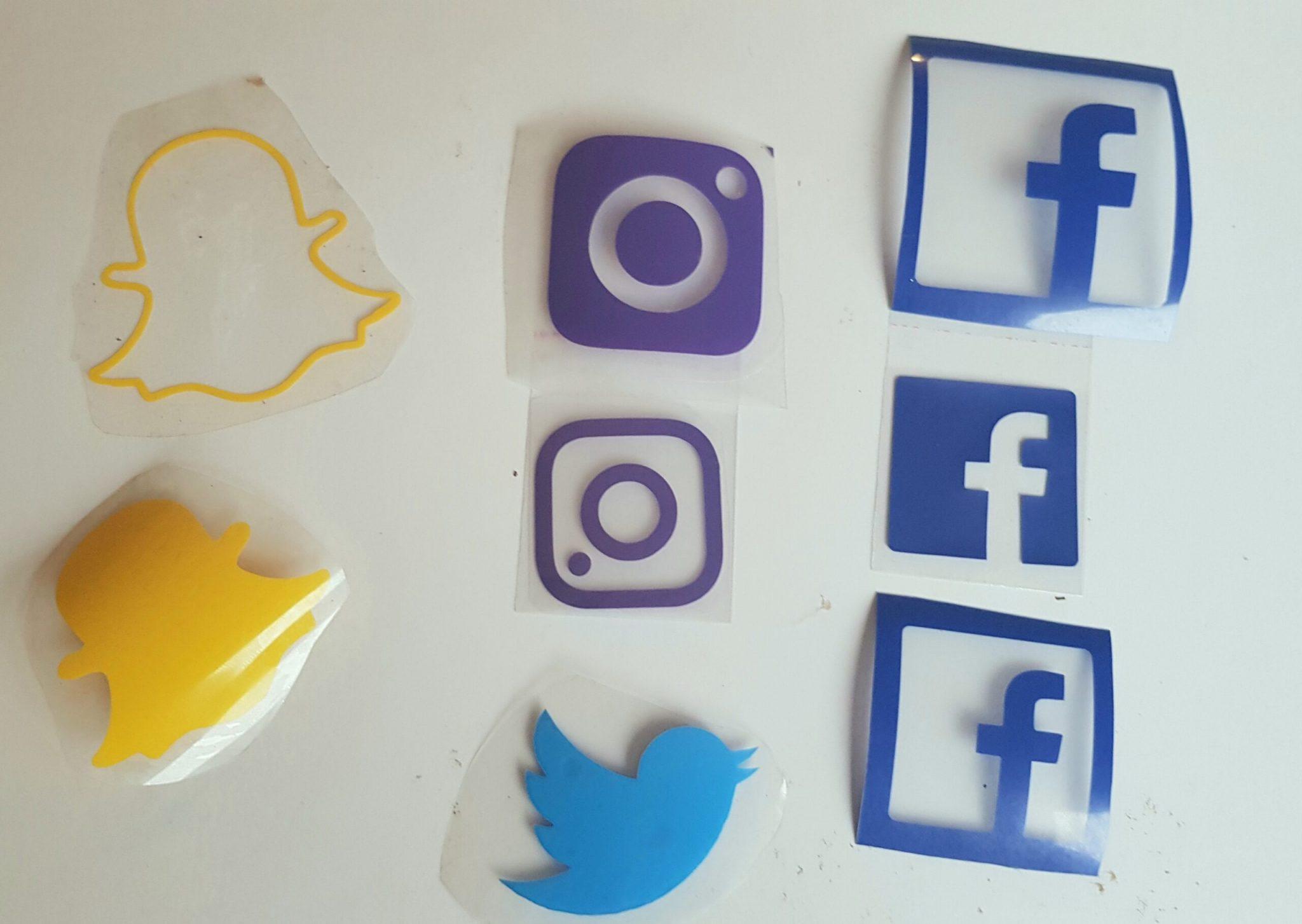 social media vinyl transfers