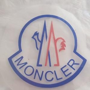 moncler vinyl transfer