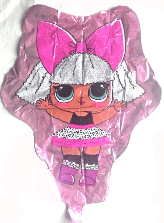 giant lol doll character foil balloon