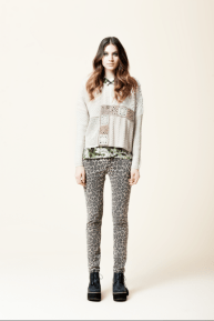 Camisola Eva, Sweater Patch, Skinny Panther, abotinado