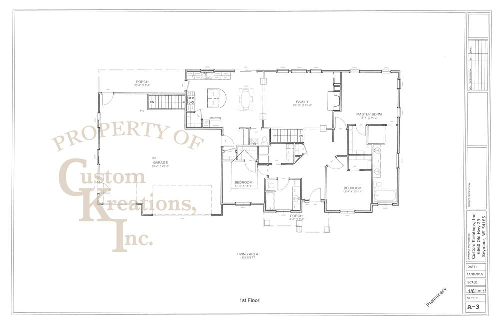 Construction Floor Plans | Home Construction Floor Plans Custom Kreations