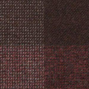A4-3755715 Wine Brown Check