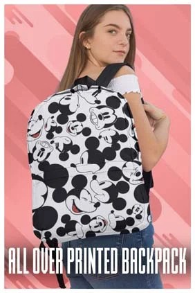 All Over Printed Backpack