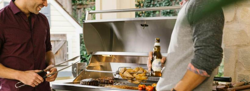 Coyote Outdoor Living Brand Barbecue Grills and Components Available at Custom Outdoor Living