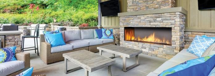 Regency HZ060 Outdoor Fireplace Insert - Custom Outdoor Living