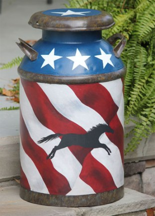Freedom milk can side 2-Denny Martindale