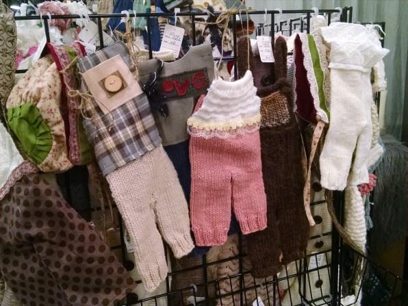 Handmade baby overalls