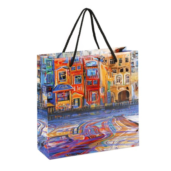 Matte Gloss Laminated Custom Retail Paper Shopping Bags 04