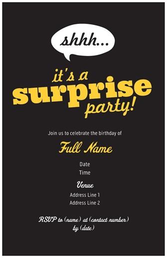 vista print birthday invitation Chatterzoom