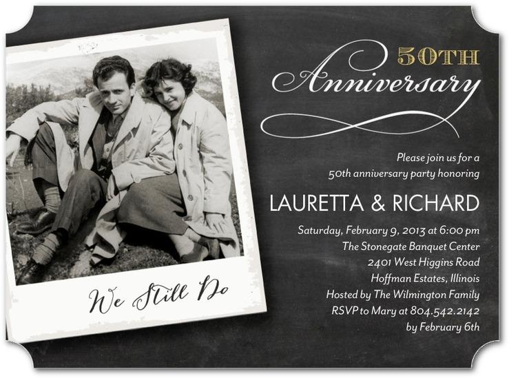 32 Best Wedding Anniversary Party Invitations