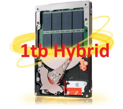 1 Terrabyte SSD Hybrid